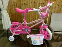 New Girls bike 14 inch, 3-5 year old