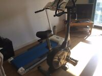 Excellent treadmill and exercise bike
