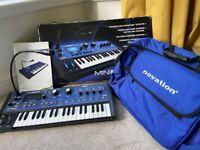 Novation MiniNova (with gig bag)