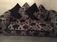 1x4 seater 1x3 seater and 1 revolving Love seat 2 years old . Ex DFS In good condition