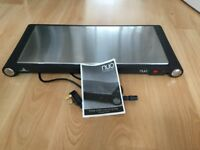 Three plate warming tray - Electric