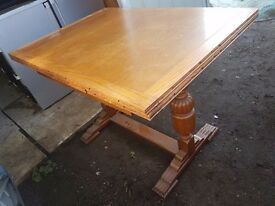 1950's table and chairs good condition free delivery