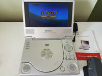 "Proline 7"" Portable DVD Player"