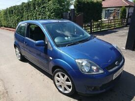2008 FORD FIESTA BLUE EDITION ZETEC 1.2,10 SERVICE STAMPS