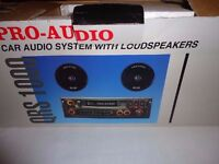 *CHARITY SALE* Car audio system with loudspeakers