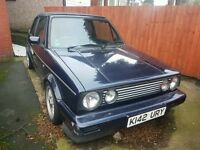 1993 K REG VW GOLF MK1 GOLF CONVERTIBLE, VERY RARE RIVAGE EDITION, NEEDS RESTORING. FINAL REDUCTION
