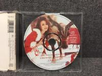 Rare orginal limited edition 1994 Mariah Carey Picture CD All I Want For Christmas Is You SDHC