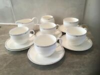 Wedgwood bone China tea set 13 piece.