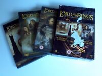 lord of the rings motion picture trilogy box set