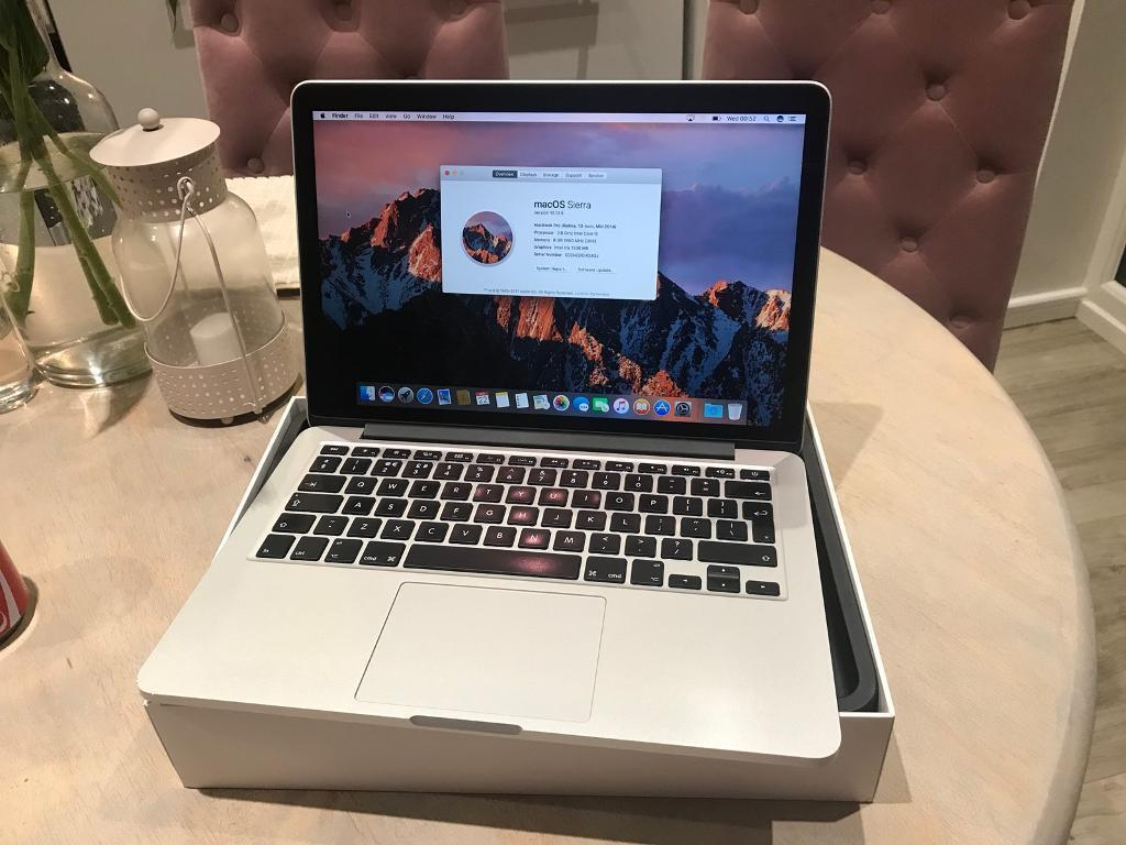 Apple Macbook Pro 13 Late 2011 I5 4gb Sierra Bekas Inch 2014 Model 3 Month Warranty