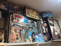 Wanted Vintage Star Wars Toys 1977-85