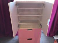 Bedroom furniture, IKEA Stuva type, kids bedroom furniture cupboard