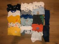 Baby boy bundle clothing