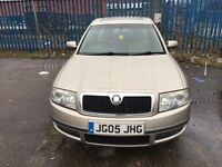 ***DAMAGE*** SKODA SUPERB V6 2.5 TDI
