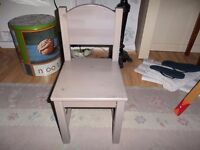 Small children's chair