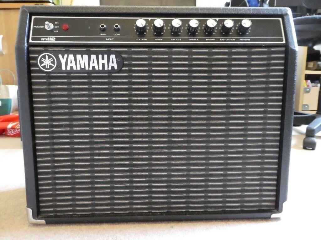 Yamaha 50w guitar amp in bath somerset gumtree for Yamaha bass guitar amplifier