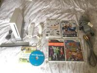 Nintendo Wii console and games bundle