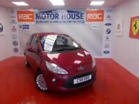 Ford KA ZETEC(£30.00 ROAD TAX) FREE MOT'S AS LONG AS YOU OWN THE CAR!!! (red) 2011