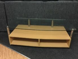 TV stand. Suitable to fit a 40 inch plus size television.