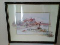 Framed Cottage picture