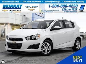 2016 Chevrolet Sonic LT Auto *Heated Seats, Remote Start, OnStar