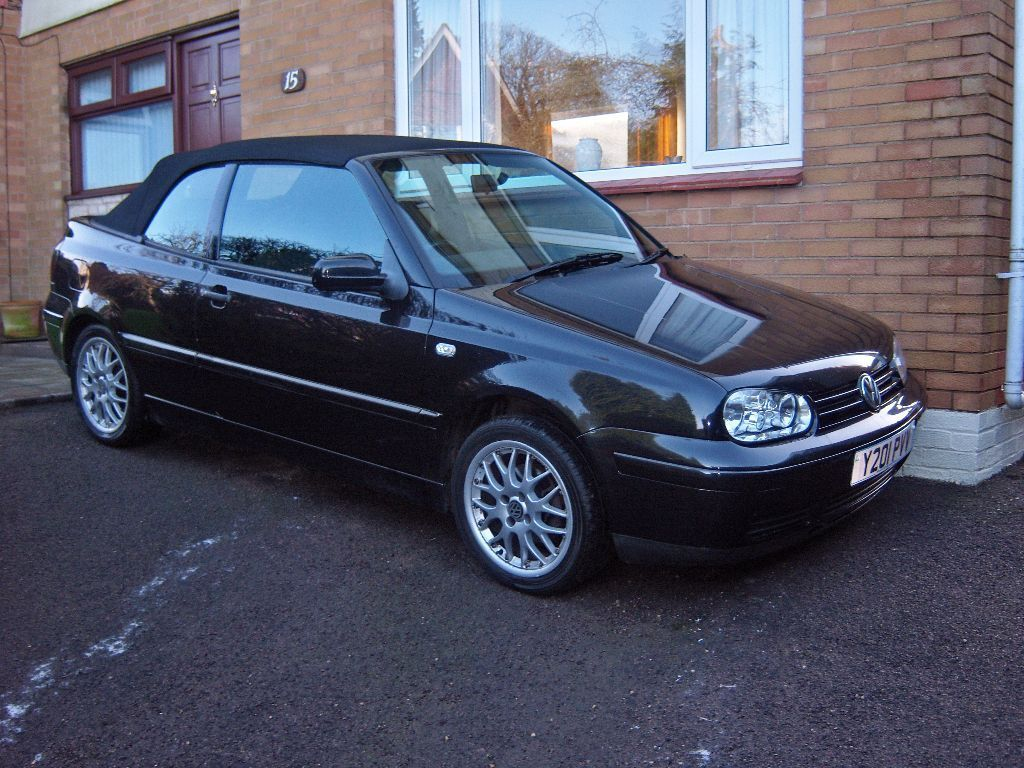 volkswagen golf mk4 cabriolet 2 0 avantgarde 2001 in. Black Bedroom Furniture Sets. Home Design Ideas