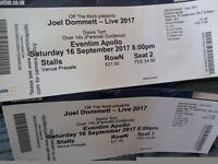 Reduced 2 x Joel Dommett tickets - Live at the Apollo 16th Sept