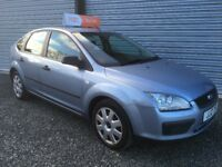 NOV 2005 FORD FOCUS 1.6 LX 5DR 85000 MILES FULL 12 MONTHS MOT 6 MONTHS RAC WARRANTY INDOOR VIEWING