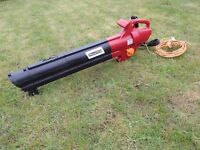 MOUNTFIELD BE2800 ELECTRIC GARDEN LEAF BLOWER VACUUM