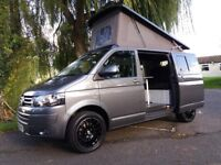 2015 VOLKSWAGEN TRANSPORTER T5 SWB CAMPER VAN CONVERSION WITH RIB BEDand Air conditioning