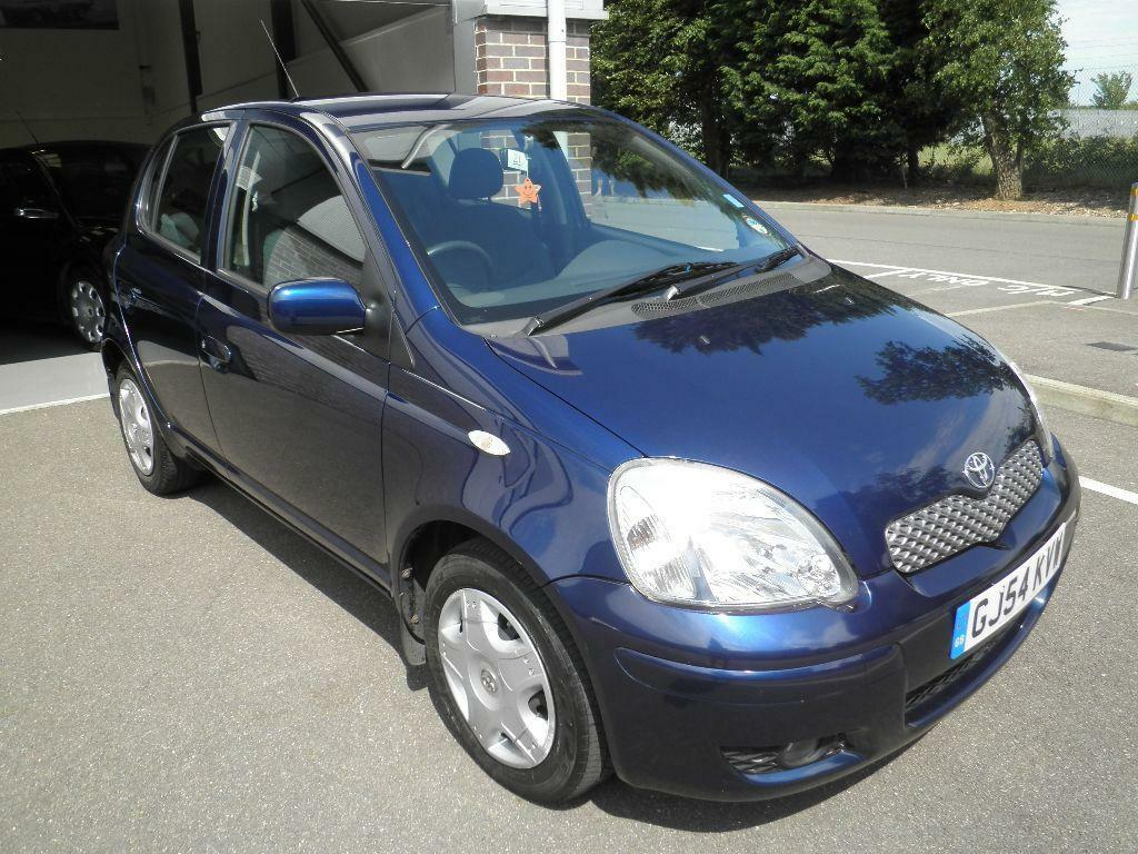 2004 toyota yaris 1 0 vvt i blue 5 door manual hatchback in maidstone kent gumtree. Black Bedroom Furniture Sets. Home Design Ideas