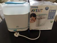 Great Condition - Philips AVENT - Electric Steam Steriliser (BPA Free) -3-in-1