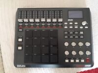 Akai Mpd 32 midi Controller (with Custom Fat Pads for True MPC feel worth £45)