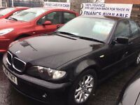 BMW 3 SERIES Very good condition, Alloy Wheels CAR FINANCE SPECIALISTS