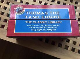 Thomas the tank library of books