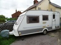 Swift Archway Hartwell 4 Berth Lightweight Caravan with Motor Mover, New Tyres, New TV, Full Awning