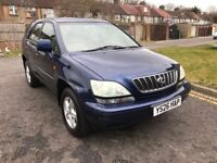 2001 Lexus RX 300 3.0 SE 5dr Automatic @07445775115 Low+Mileage+SunRoof+HeatedSeat