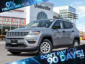 2018 Jeep Compass SPORT   BACK UP CAM   BLUE-TOOTH   6 SPEED  