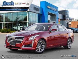 2017 Cadillac CTS 3.6L Luxury AWD|SUNROOF|NAVIGATION|BACK UP CAM