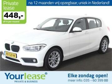 BMW 1-Serie 118i Executive Automaat 448,- All in Na 12MND VR