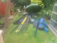 arp set up 16 m pole grandslam box to many items to list message for details