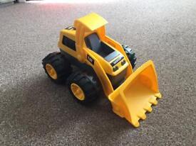 CAT digger truck