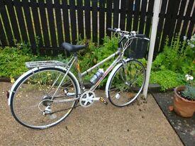 ladies ..carrera gemini classic {city bike } ..shopper.. 21 inch frame.