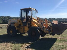 JCB 412 farm master loading shovel and sprayer tractor for sale