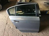Volkswagen Passat b6 driver side back door in grey colour la7t