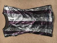 Size 12 sequin top