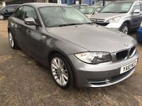 BMW 1 Series 2.0 120d SE 2dr FREE 12 MONTH WARRANTY,NEW MOT,FINANCE AVAILABLE, P/X WELCOME