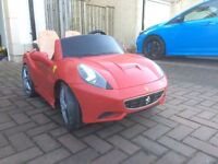 Ferrari California - 2 seater - just like the real thing!