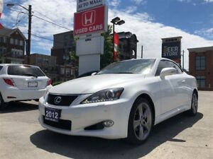 2012 Lexus IS250C 6A