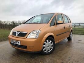 2005 Vauxhall Meriva 1.7 CDTI ENJOY+FSH+2KEYS+3OWNERS+PX+SWAP
